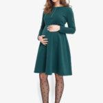 Фото: утепленное платье Hvoya для беременных 1
