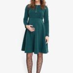 Фото: утепленное платье Hvoya для беременных