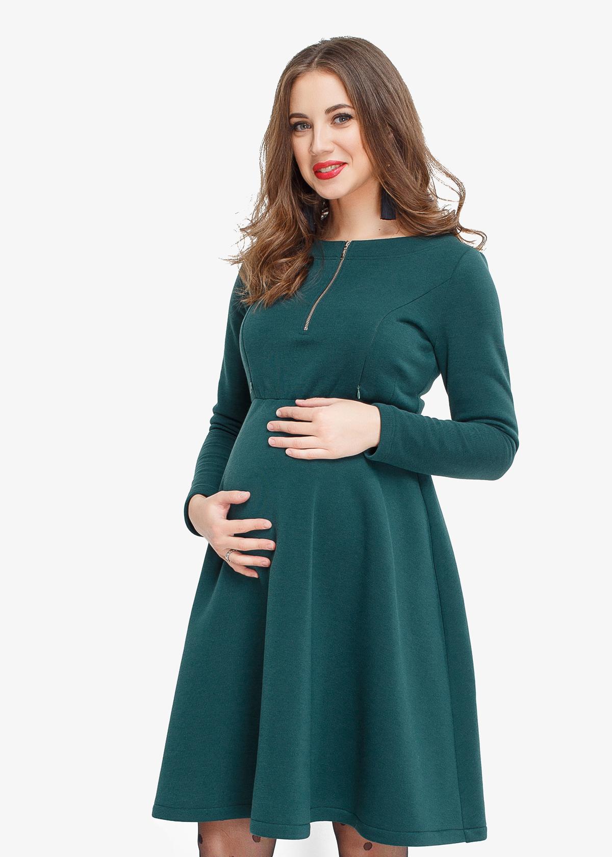 Фото: теплле платье для беременной девушки Hvoya