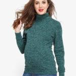 Фото: стильная одежда для беременных женщин - красивая водолазка Greneery