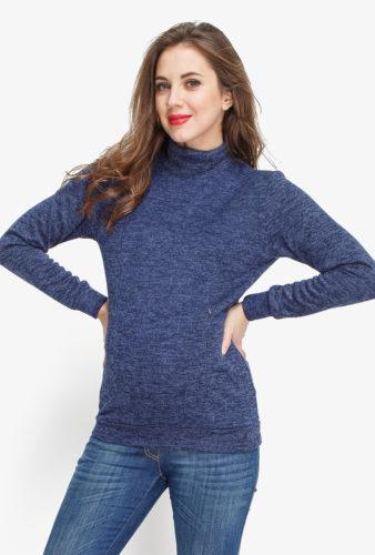 Фото: стильная одежда для будущих мам - Водолазка Topazio NEW 1