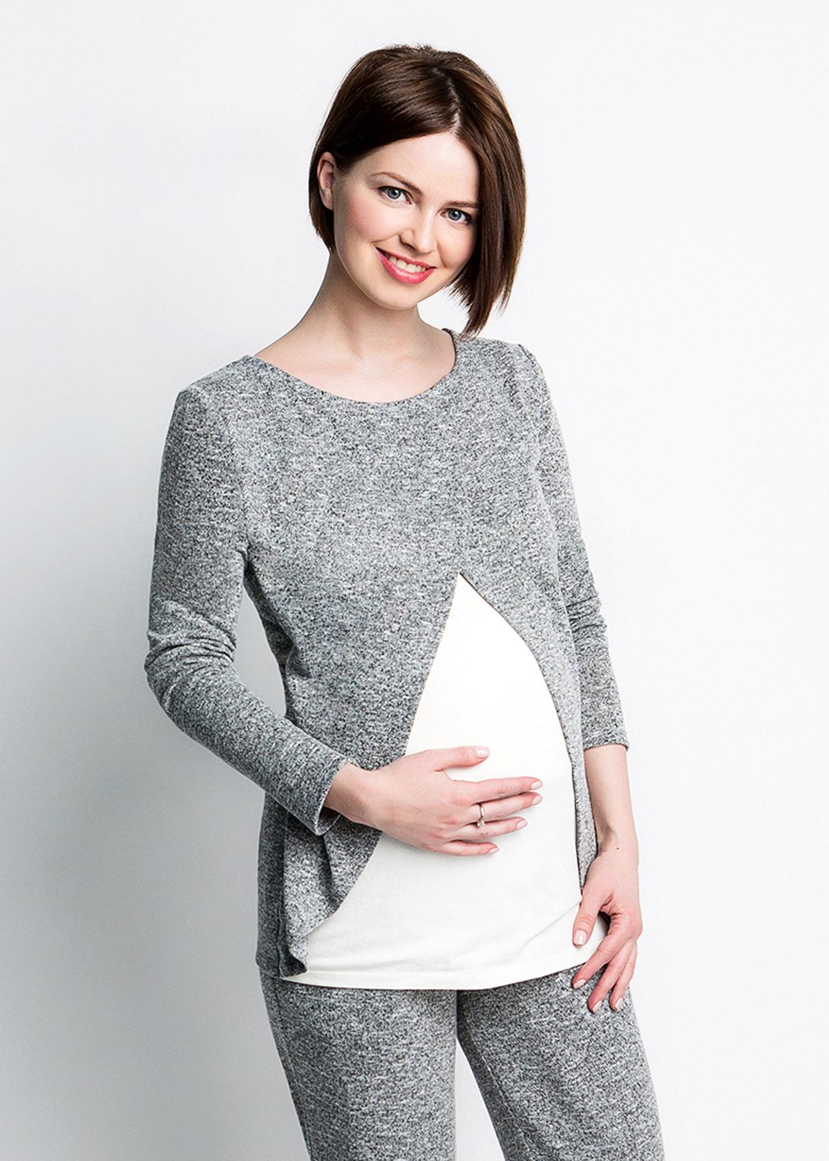 лонгслив для беременных и кормящих мам