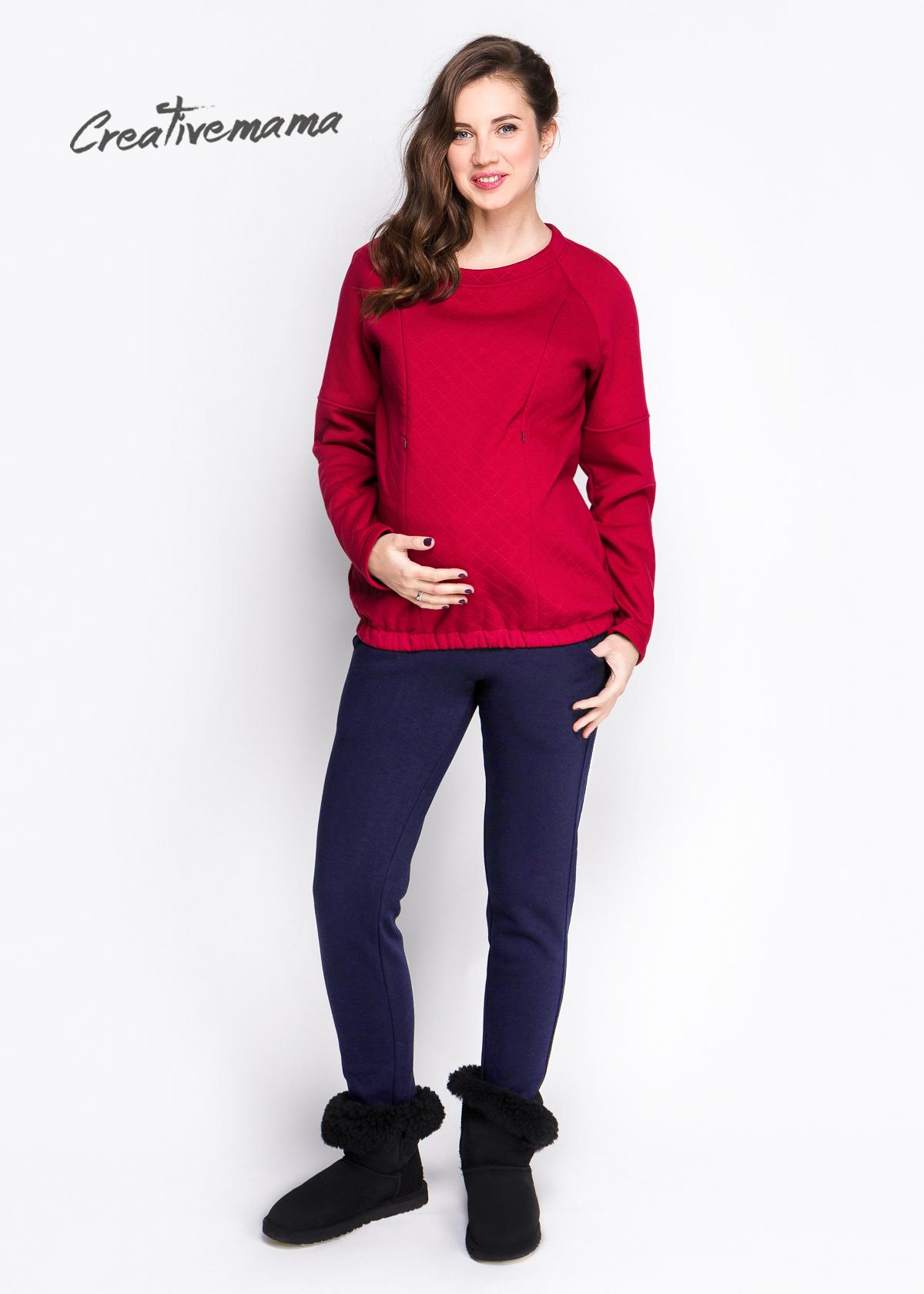 Фото: модная одежда для беременных - Зимние брючки indigo