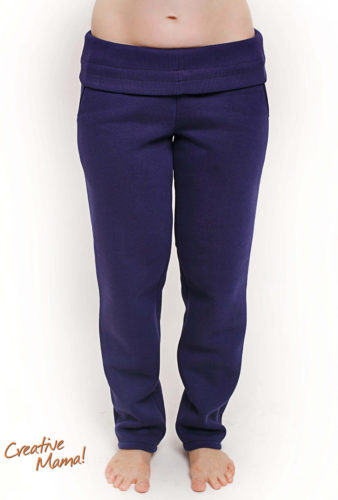 Фото: одежда для беременных - зимние штаны indigo