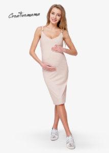 ПЛАТЬЕ ТОП BODYCON LATTE (ХЛОПОК) для беременных мам