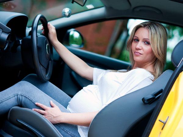 вождение авто во время беременности