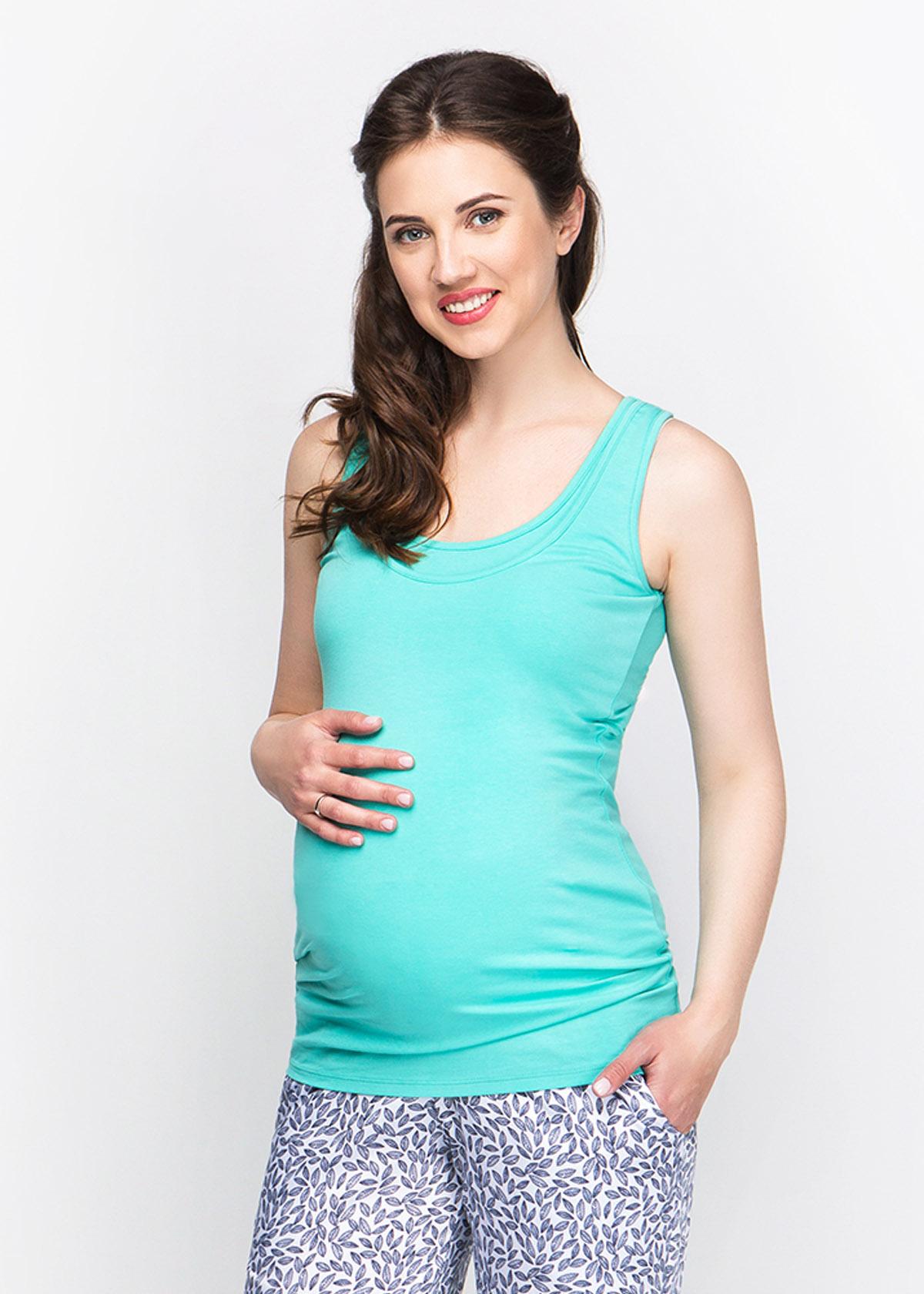 Футболка для беременных с секретом кормления