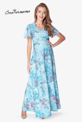 Купить нарядные вечерные платья для кормящих мам от CreativeMama 7cf7f87ab60