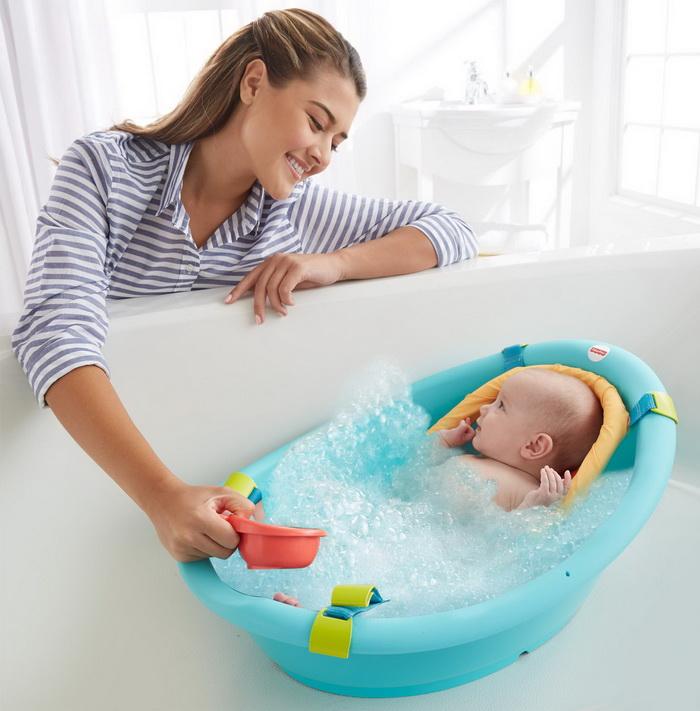 Игры в ванной с ребенком