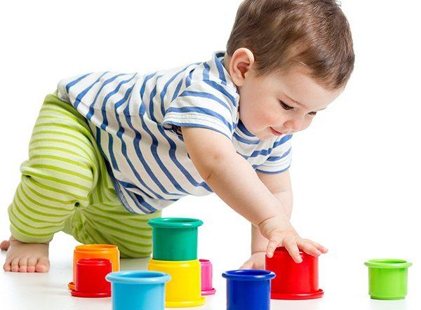 Игры с малышами до года