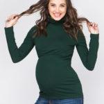 водолазка emerald для беременных и кормящих мам